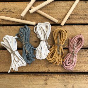 Makramee DIY Wandbehang